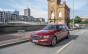 Mercedes-Benz E-Klasse T Modell, Press Test Drive Hamburg 2016, E 220d, designo hyazinthrot metallic, designo Leder Nappa schwarz/titangrau pearlAIR BODY CONTROL, AVANTGARDE,  E 220 d, Kraftstoffverbrauch kombiniert:  4,2 l/100 km, CO2-Emissionen kombinie