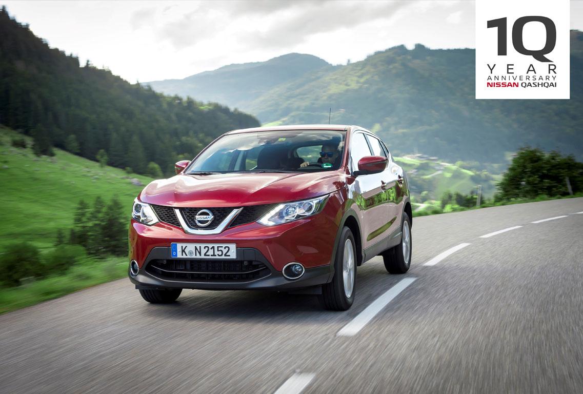 [FOTO] Nissan Qashqai festeggia i 10 anni dal lancio commerciale