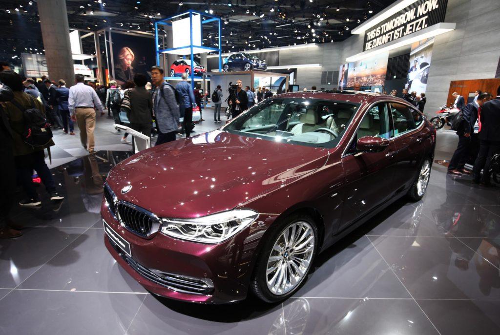 BMW 6 GT 2018 al Salone di Francoforte 2017