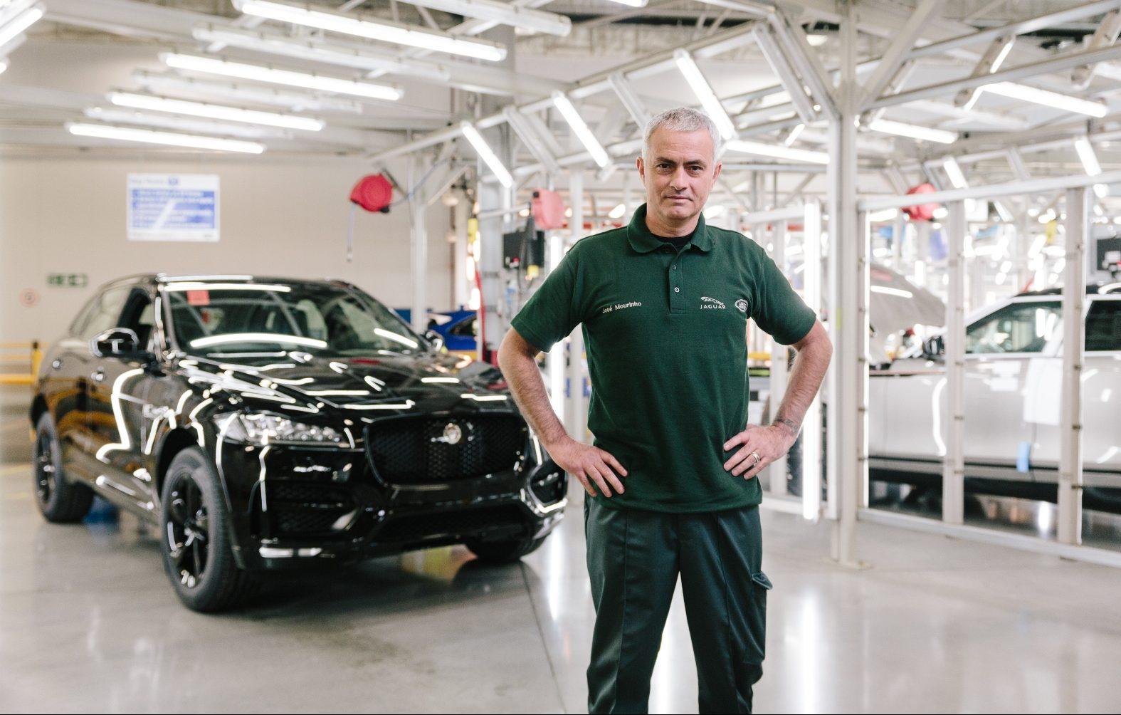 Visita a sopresa per José Mourinho a Casa Jaguar