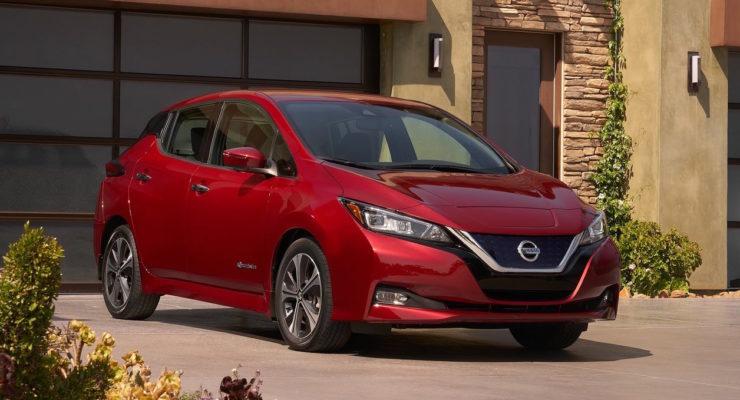"""Nissan Leaf 2018: l'elettrica """"2.Zero"""""""