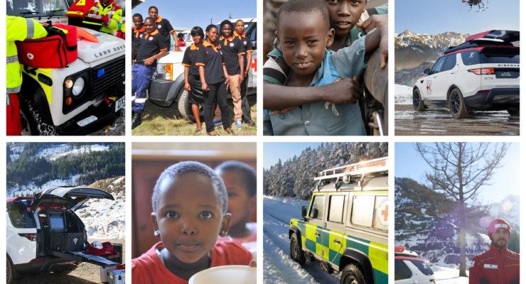 I volontari Jaguar e Land Rover tracciano le mappe per salvare vite
