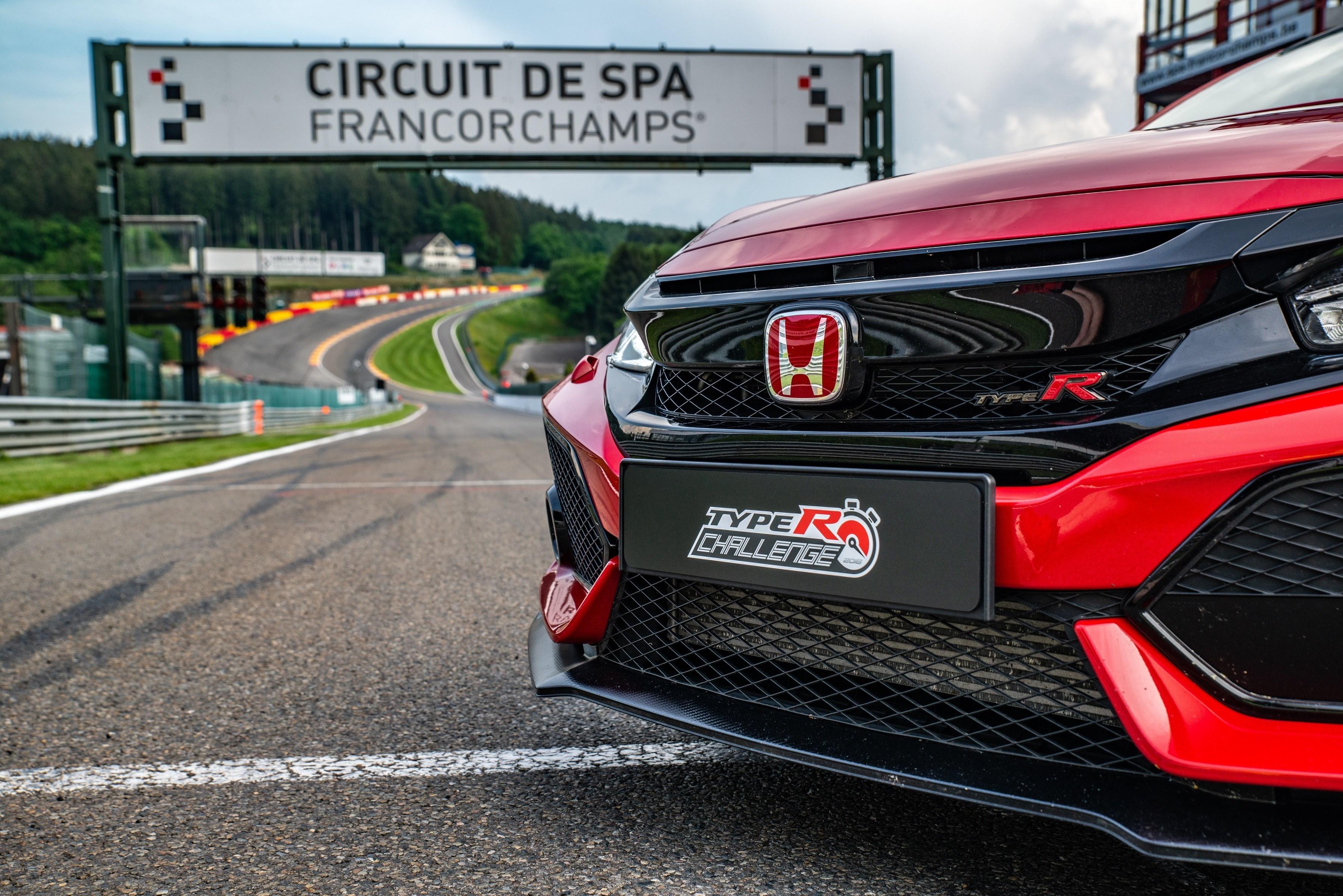 Circuito Spa : La honda civic type r timbra il record anche a spa francorchamps