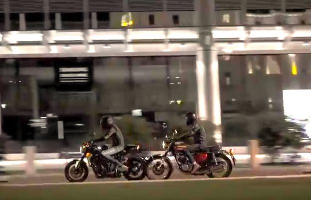 "Un video ""emozionale"" per Honda CB1000R ""Neo Sports Café"""