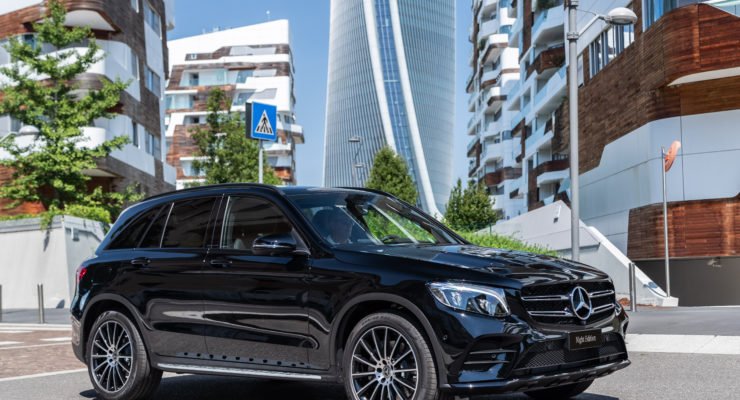 Mercedes Night Edition, connubio tra classe e sportività