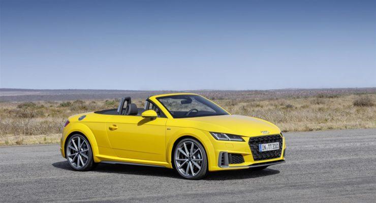 Audi TT 2019: via agli ordini della terza generazione