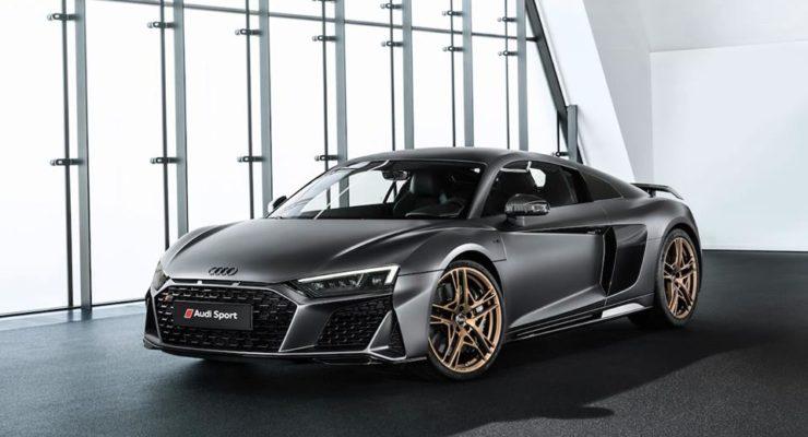 Audi R8 V10 Decennium: omaggio al V10!