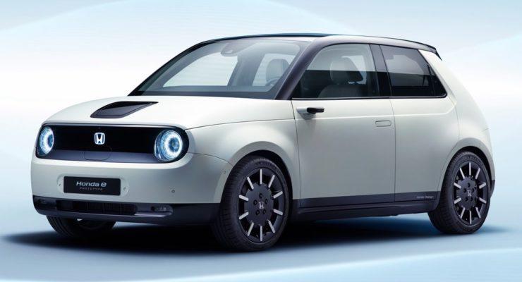 Honda e-Prototype: il futuro sbarca a Ginevra