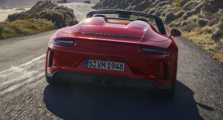 Un'edizione limitata per la nuova Porsche 911 Speedster