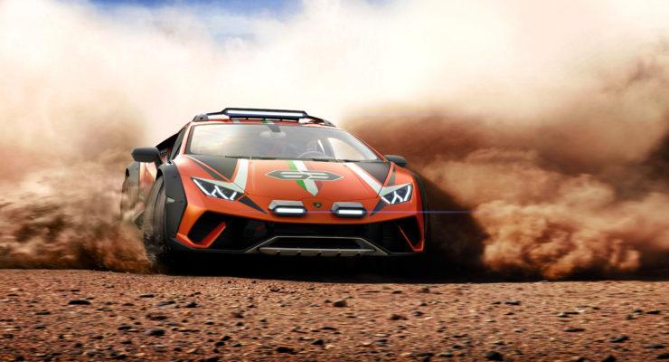 Lamborghini Huracan Sterrato Concept:la nuova frontiera dell'offroad!