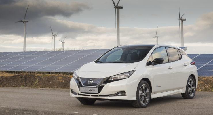 Nissan e 4R Energy aumentano la resilienza tramite i veicoli elettrici