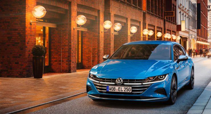 Svelato il restyling di Volkswagen Arteon