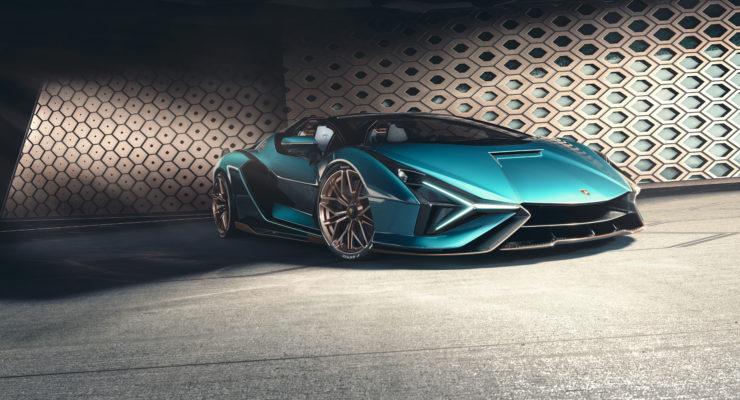 Nuova Lamborghini Sian Roadster: Edizione limitata a cielo aperti