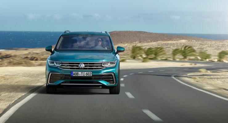 La nuova Volkswagen Tiguan in anteprima mondiale
