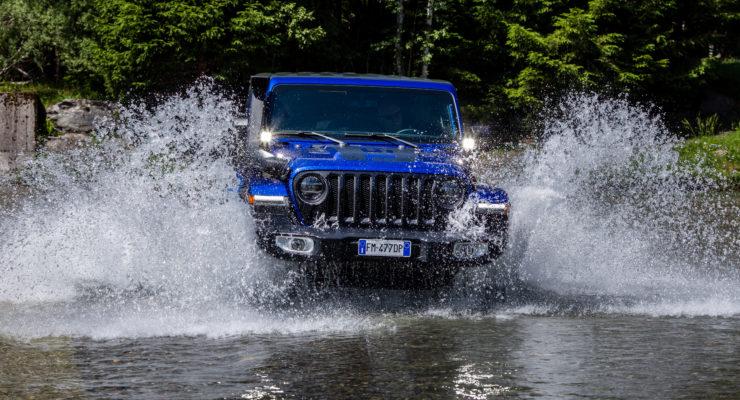Jeep Wranger nell'allestimento Mopar 100% street legal!