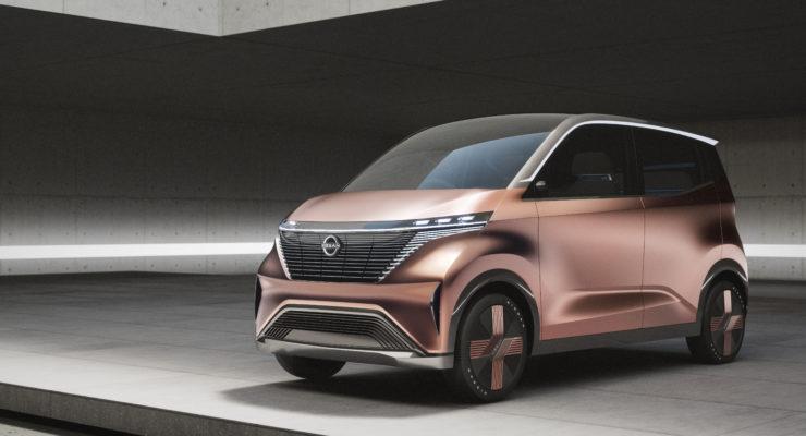 Svelata Nissan IMk, la concept a zero emissioni