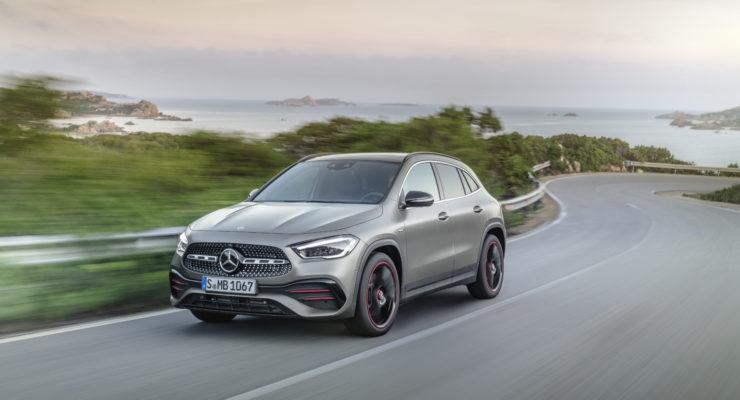 Nuovo Mercedes-Benz GLA: più carattere, più spazio, più sicurezza