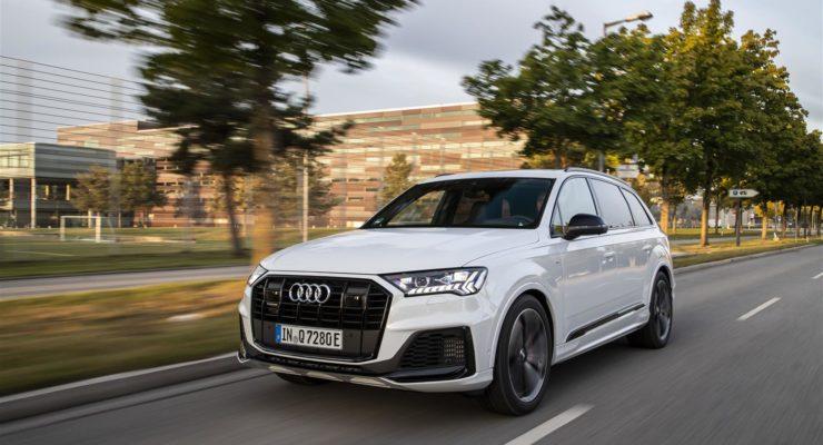 La gamma plug-in di Audi si amplia con il nuovo Q7 TFSI e quattro