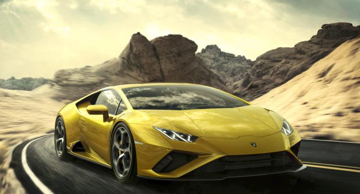 Nuova Lamborghini Huracán EVO RWD: puro piacere di guida nel pieno controllo del conducente